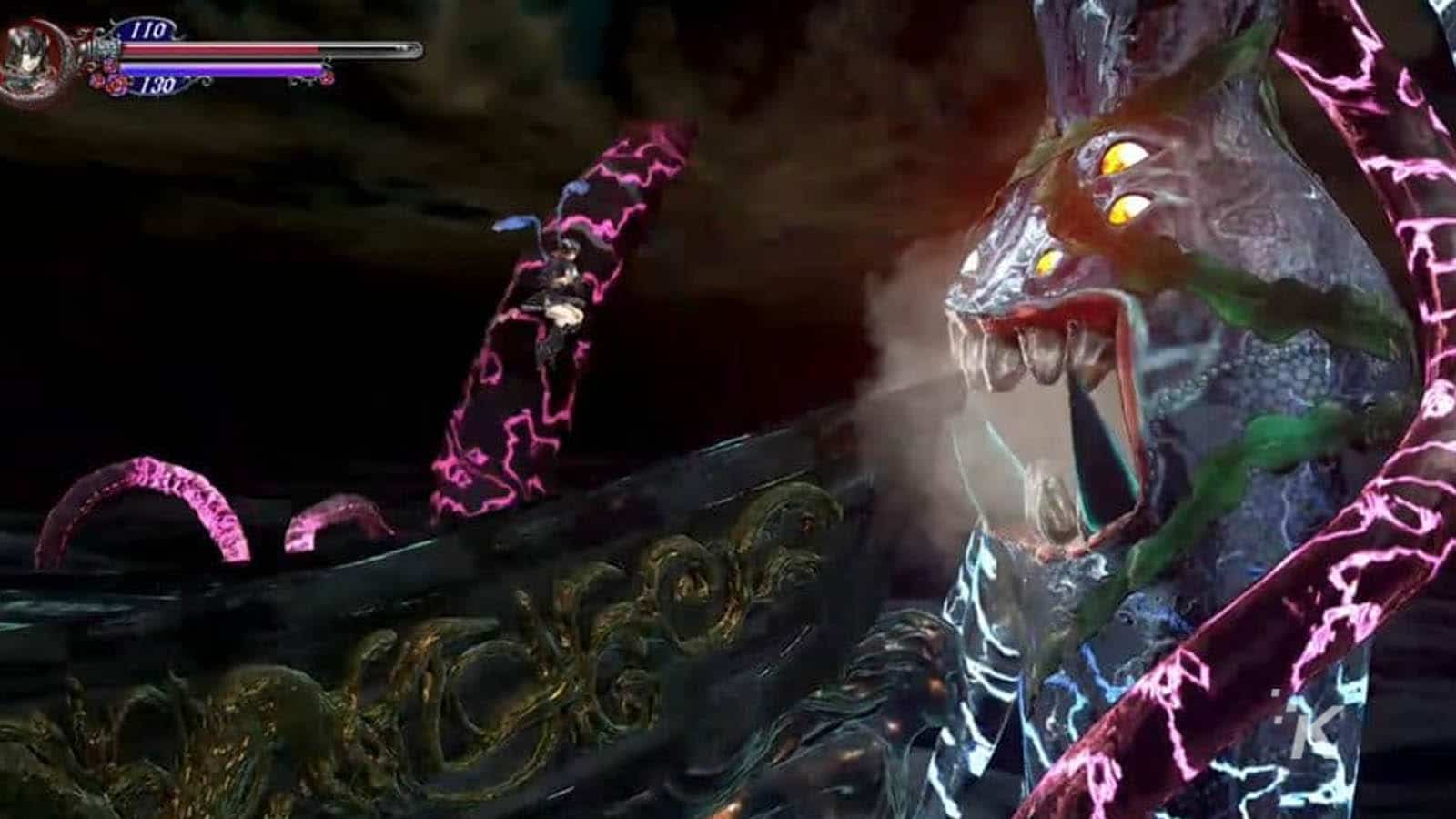bloodstained gameplay on microsoft
