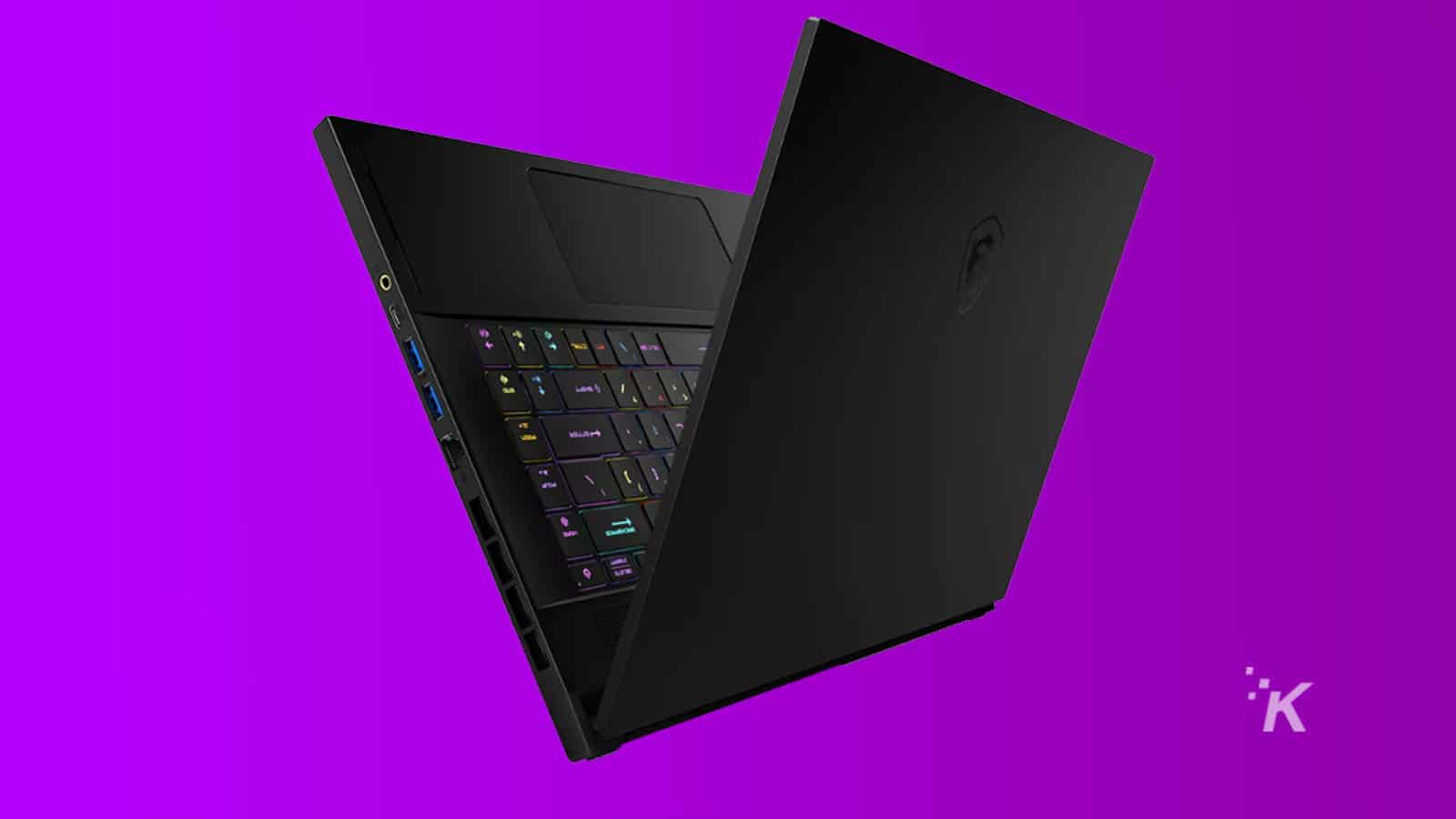 new msi laptop