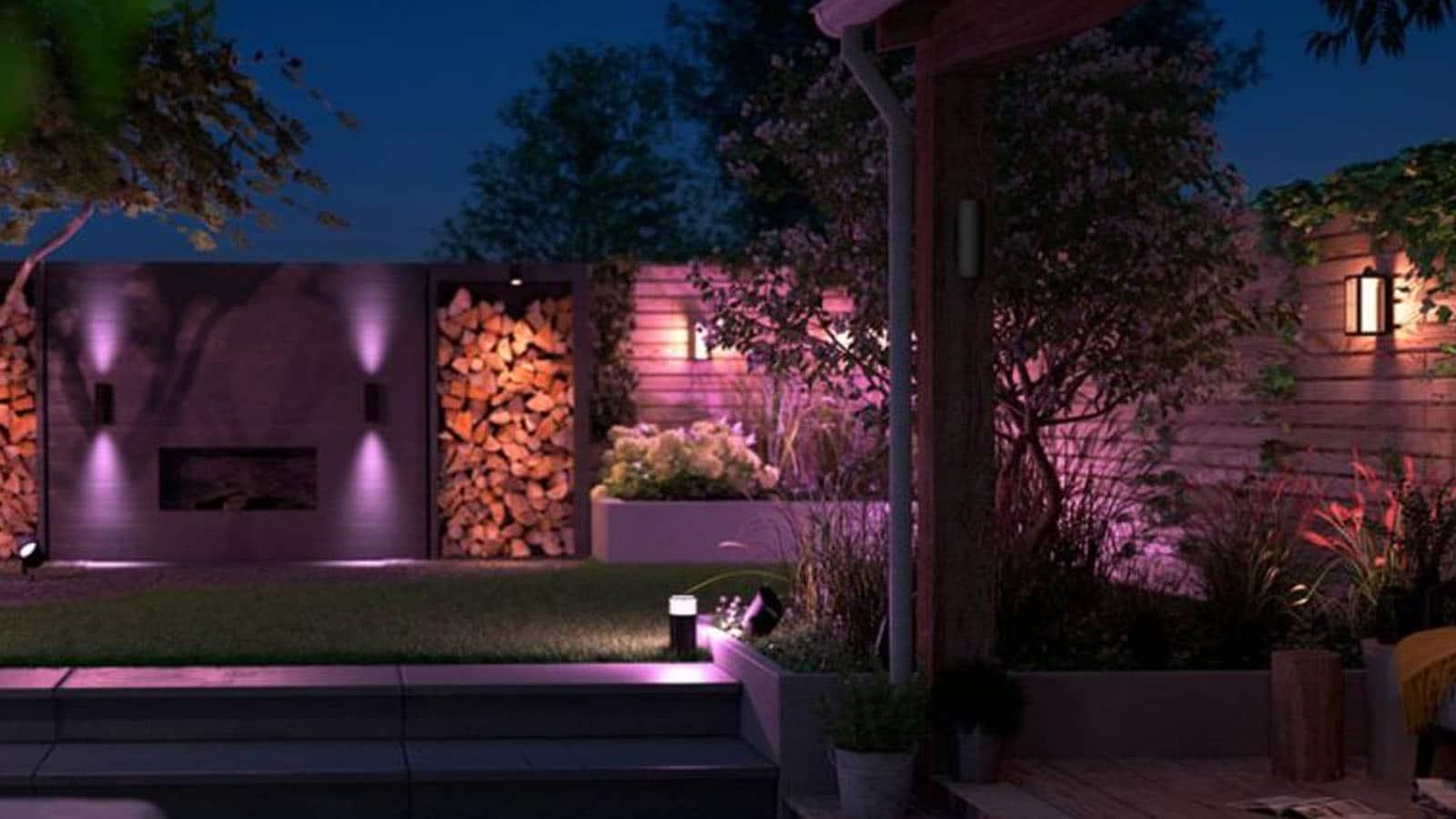 philips hue outdoor lighting