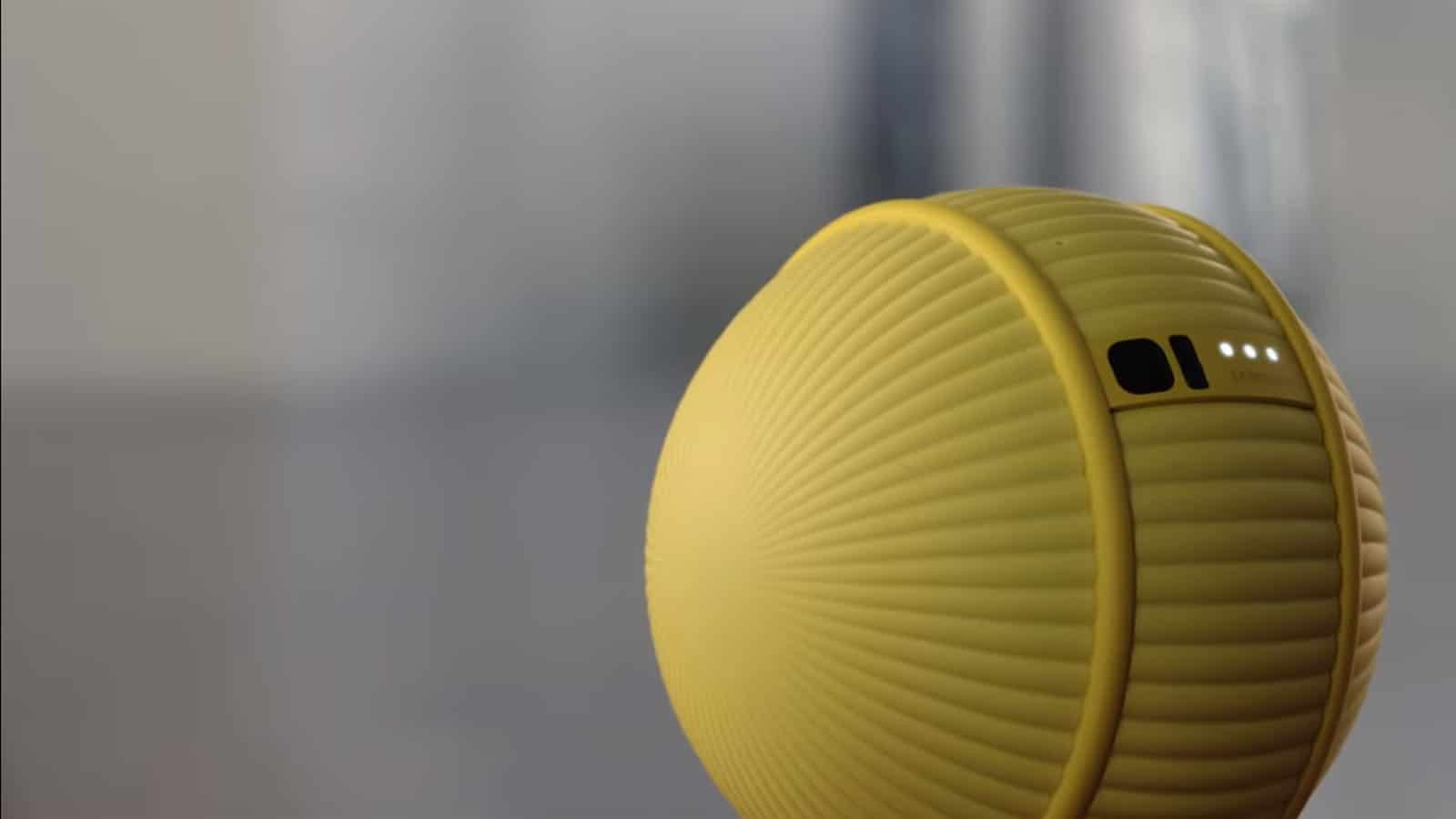 samsung ballie smart bot