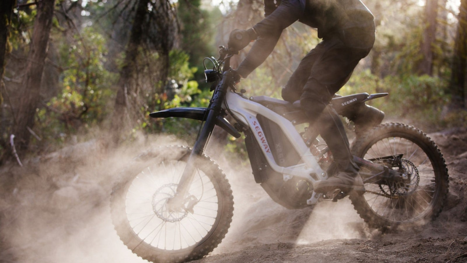 segway dirtbike on trail crowdfunding campaign