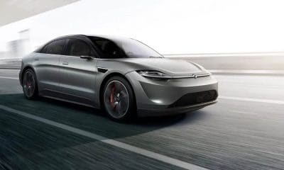 sony electric car at ces 2020
