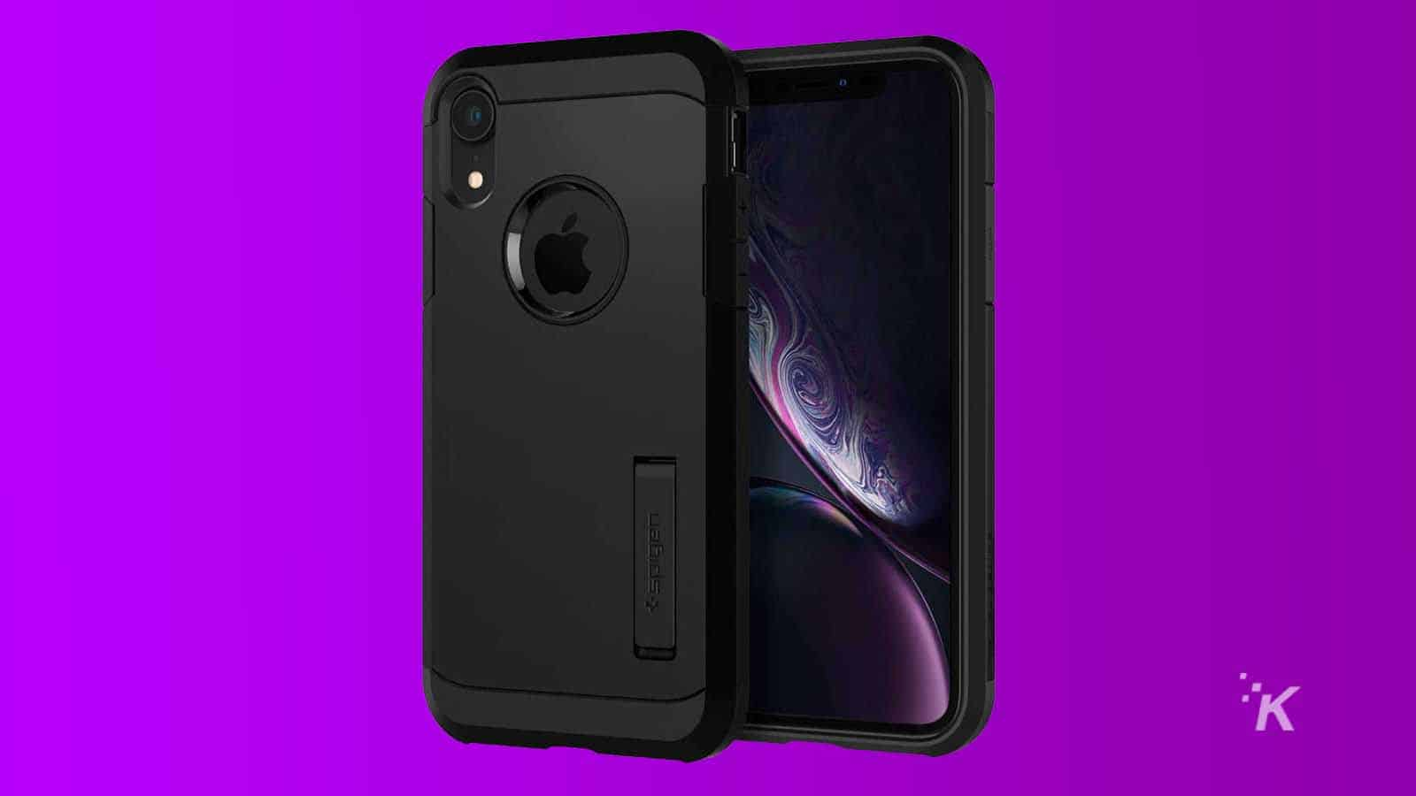 spigen tough iphone xr case