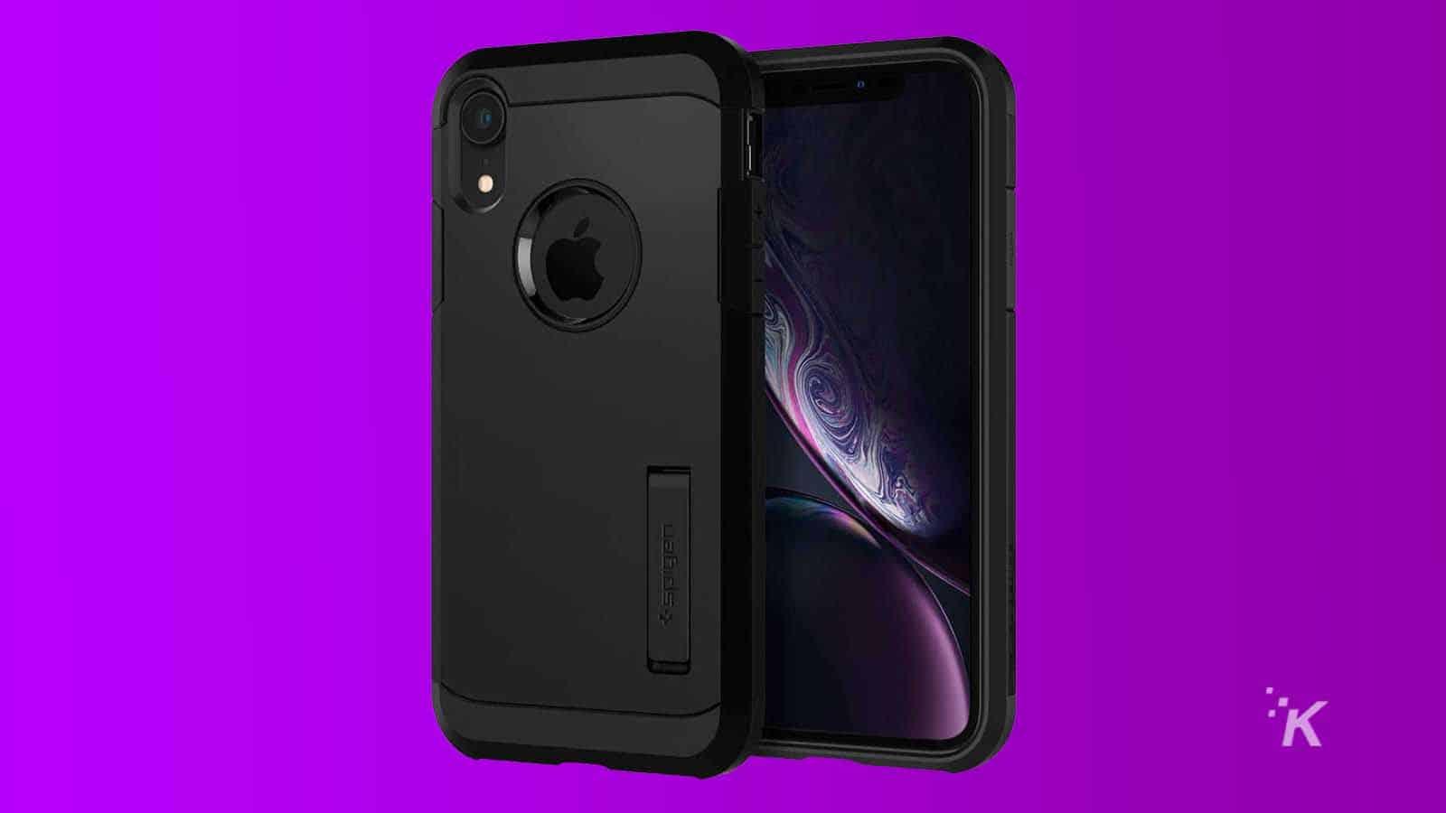 spigen tough iphone xr case