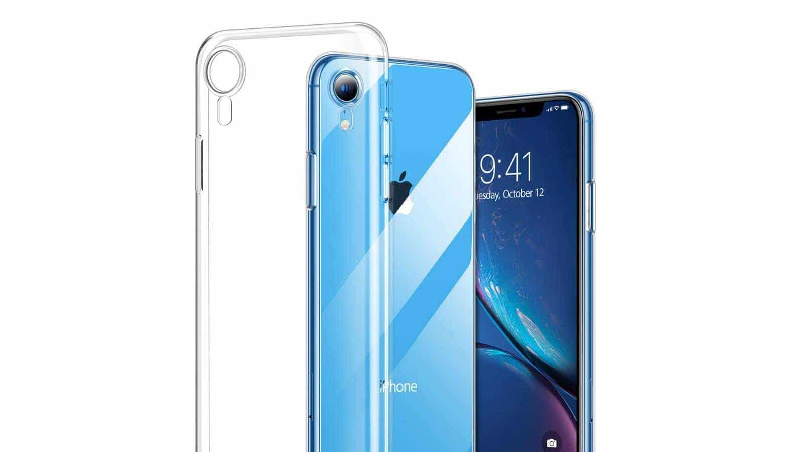 torras clear iphone xr case