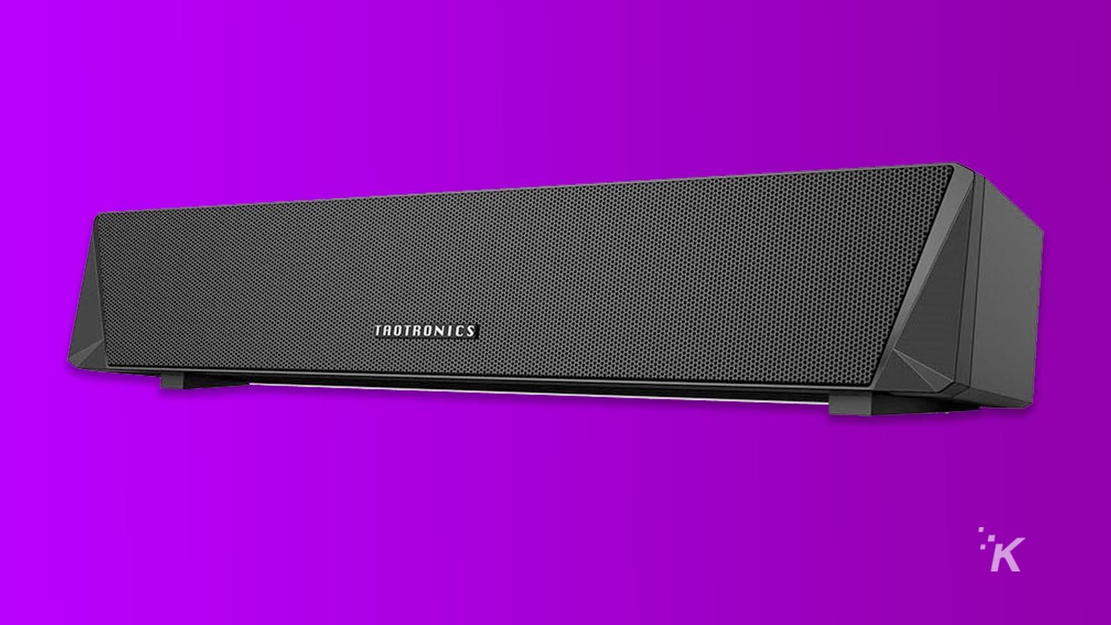 taotonics bluetooth speaker