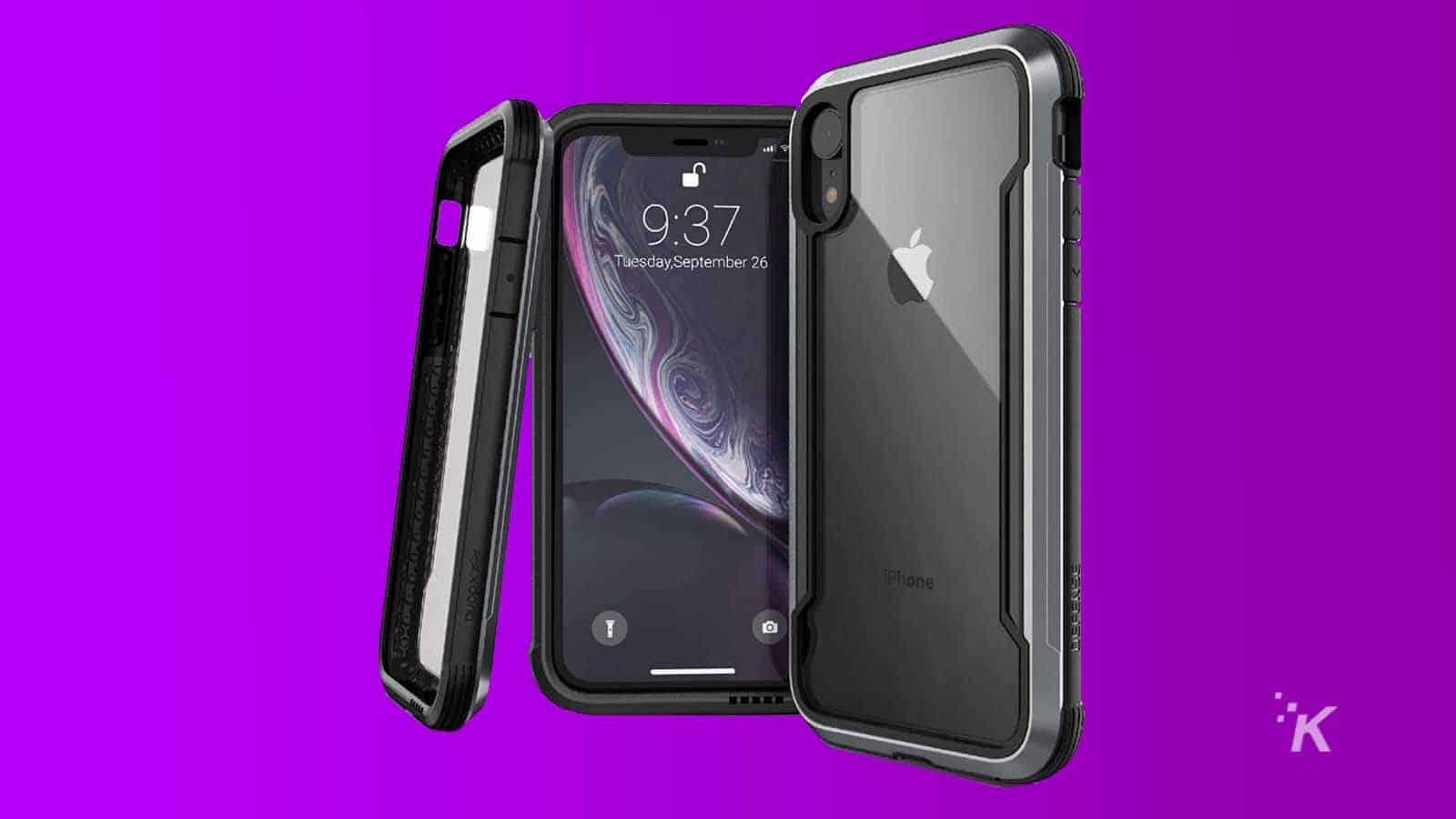 x-doria defense iphone xr case