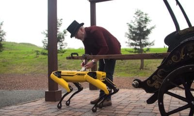 adam savage and boston dynamics' robodog spot