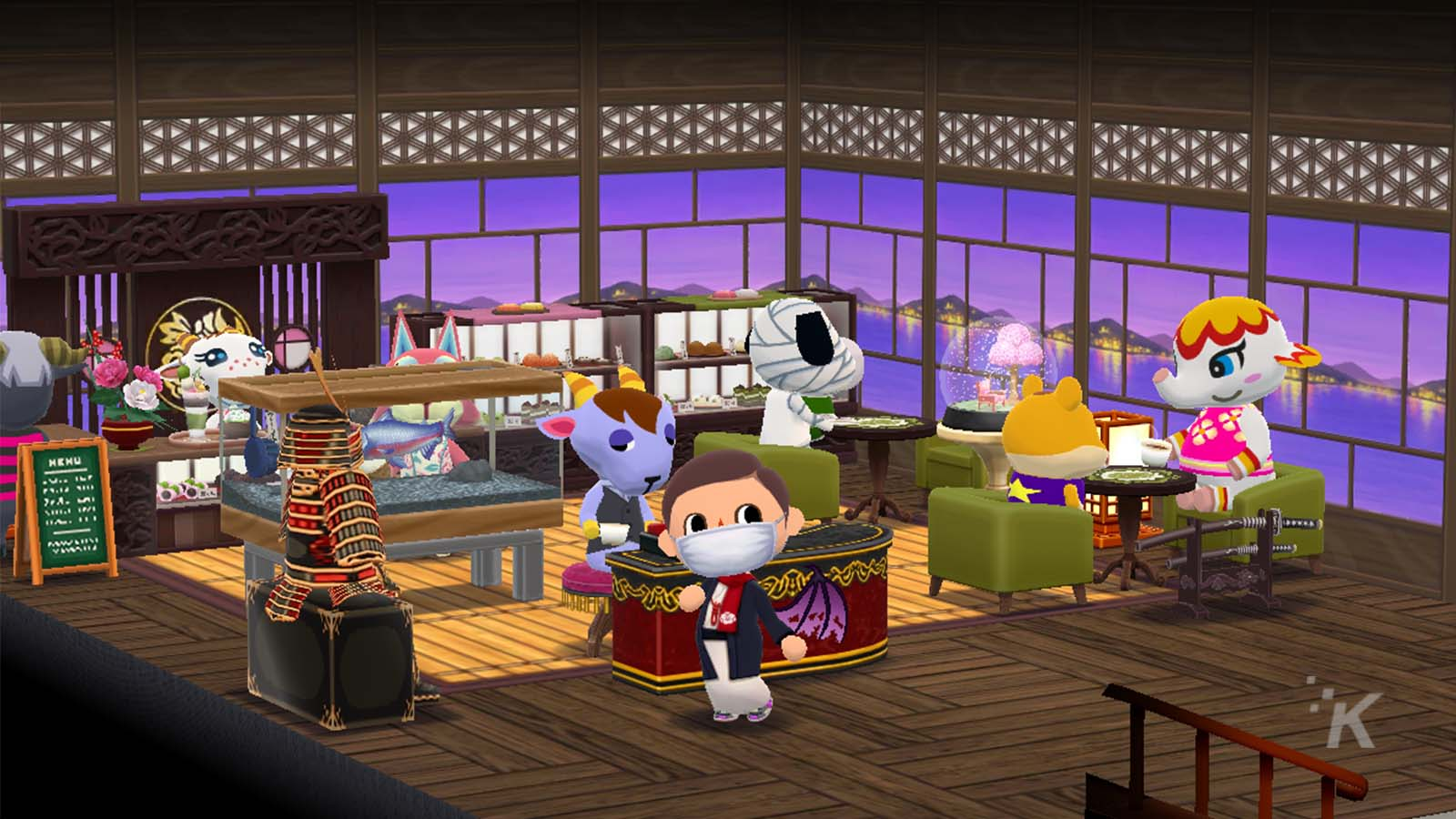 animal crossing pocket camp cabin