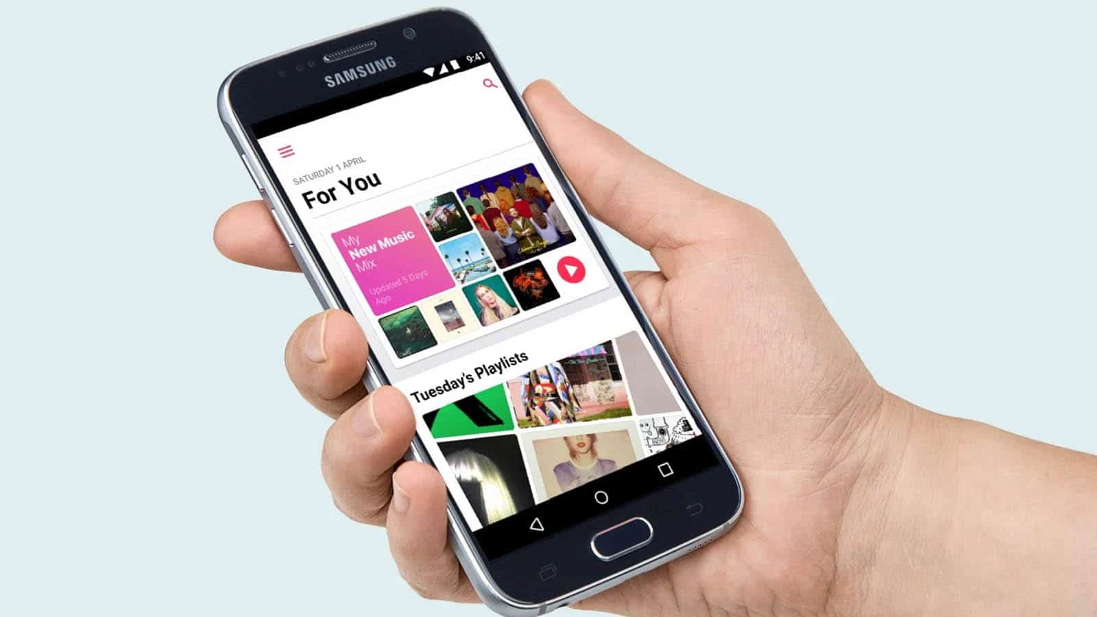 apple music on android phone