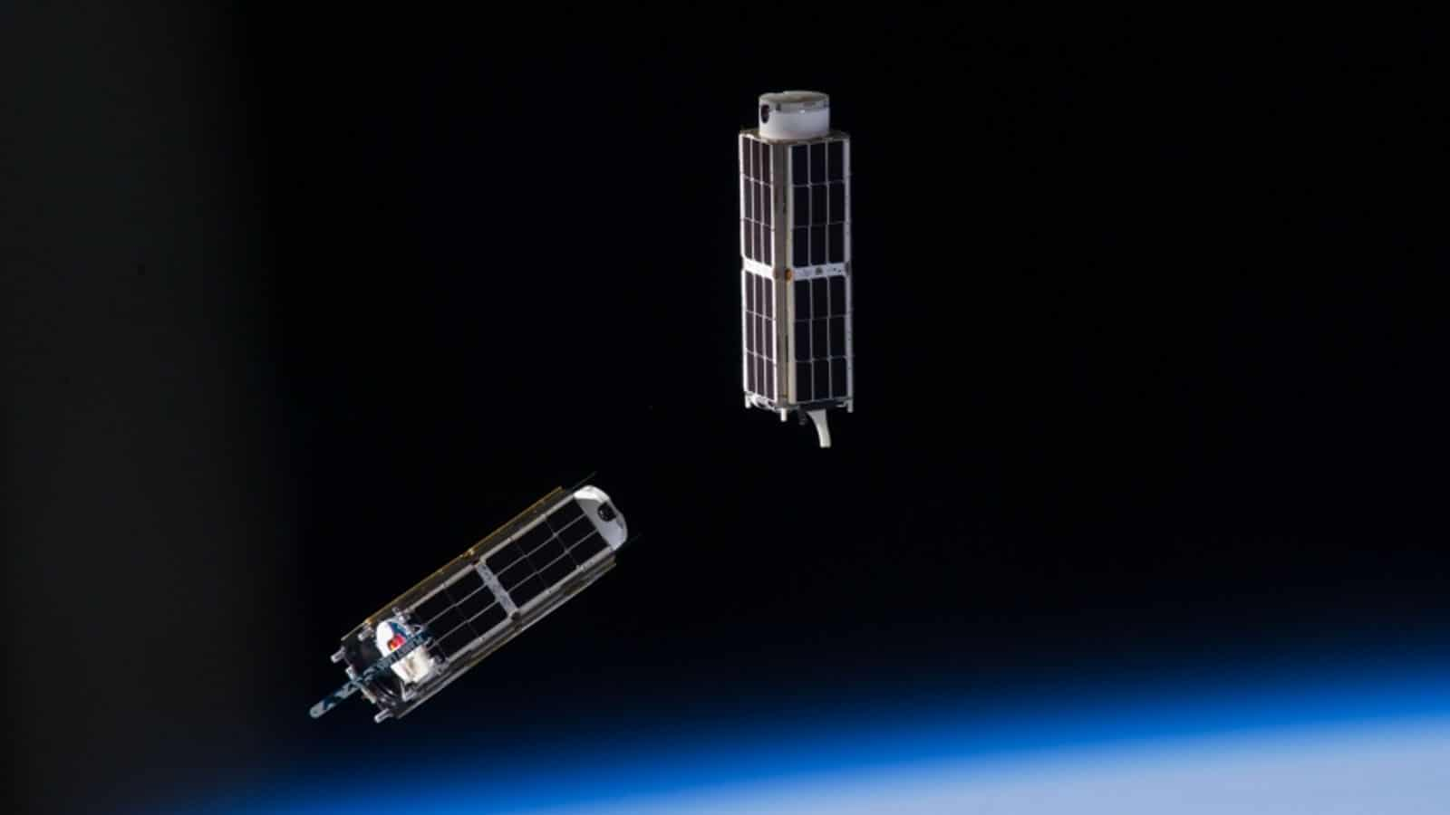 cubesats in space