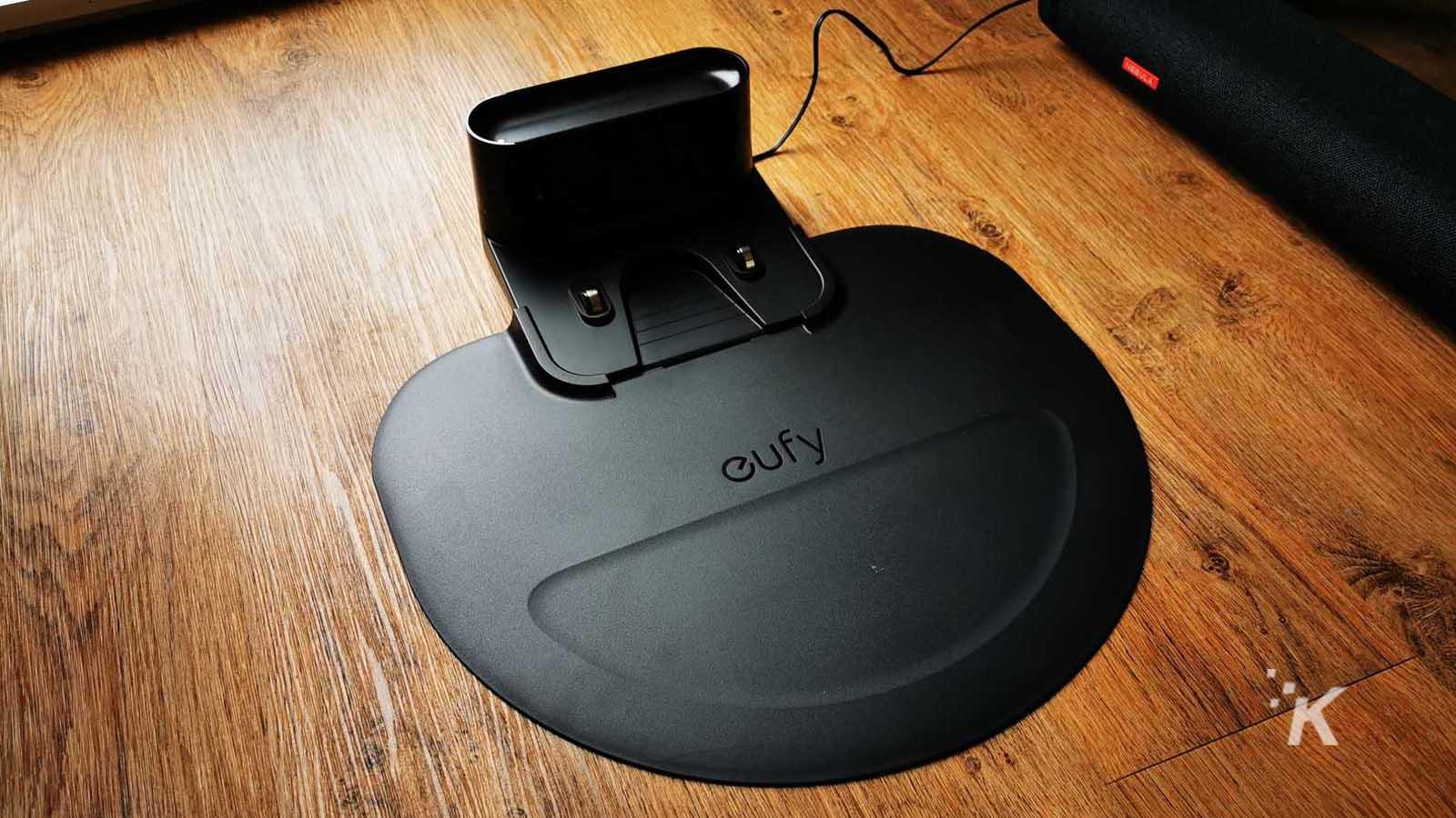 eufy robovac charging station