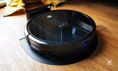 eufy robovac on floor