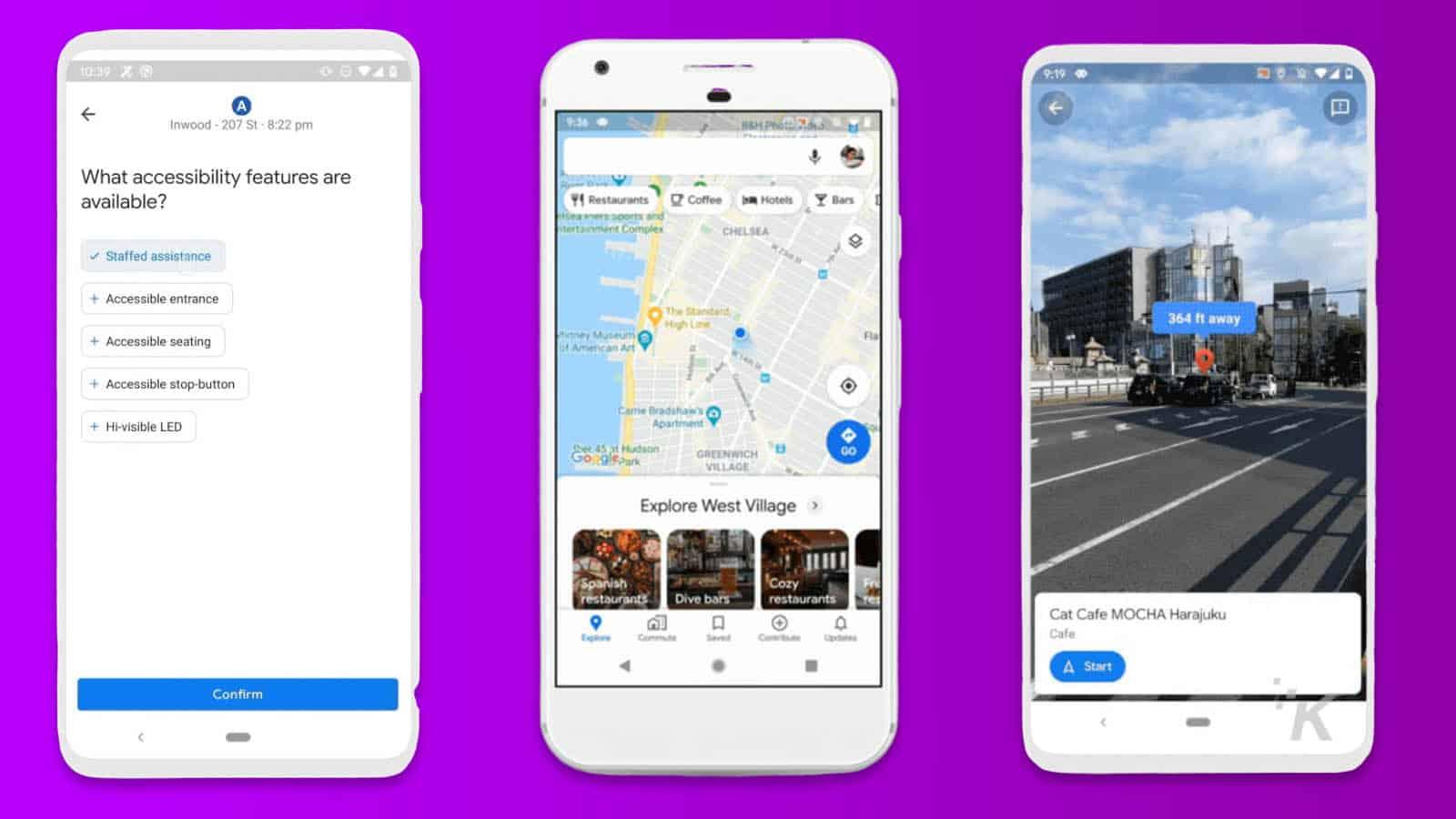 google maps update february 2020