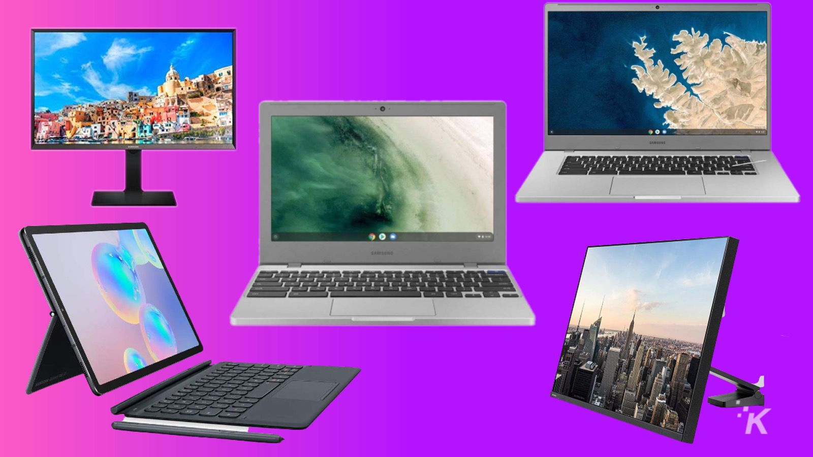 laptop chromebook monitor sale knowtechie amazon