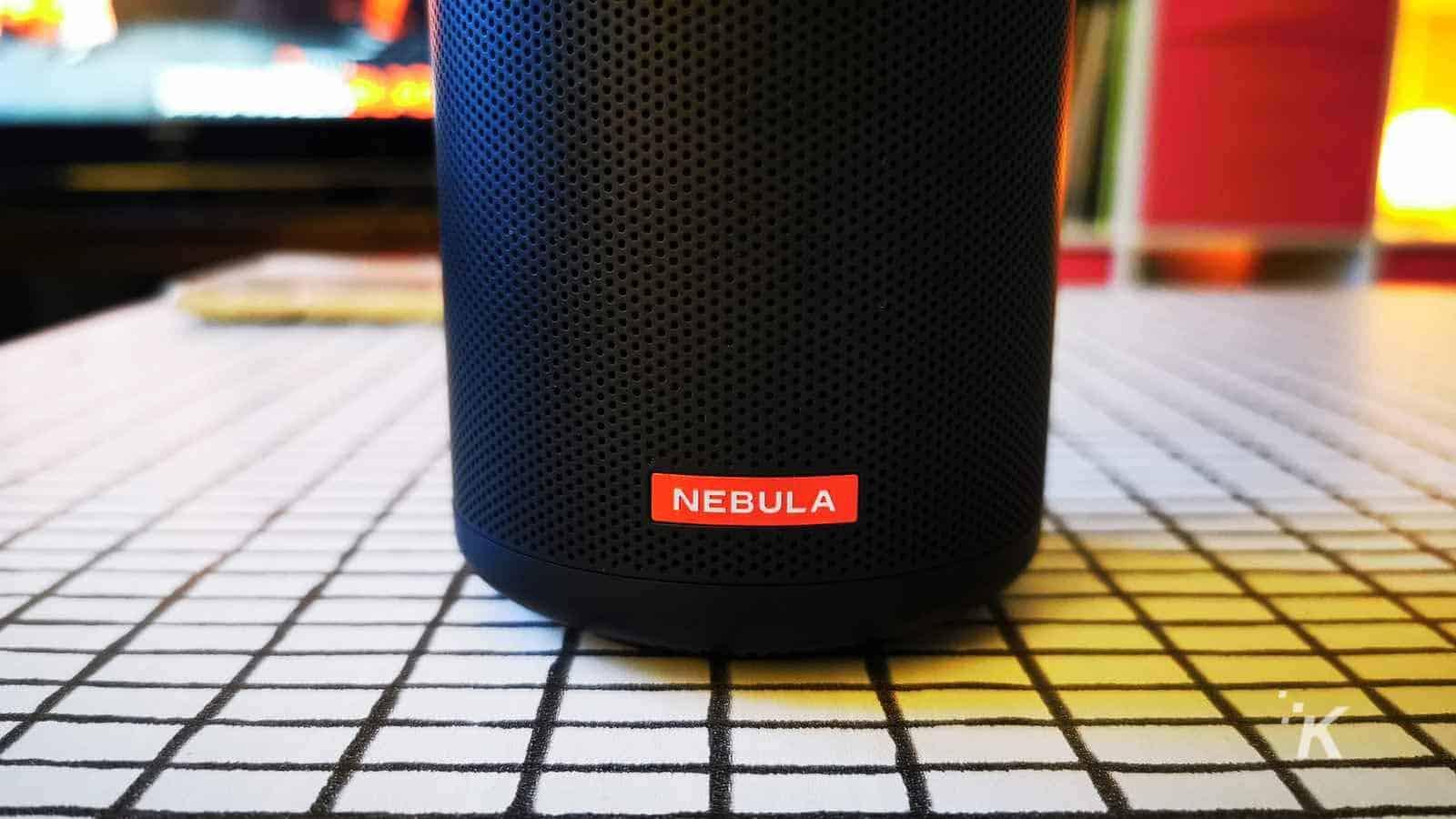 nebula capsule ii speaker logo