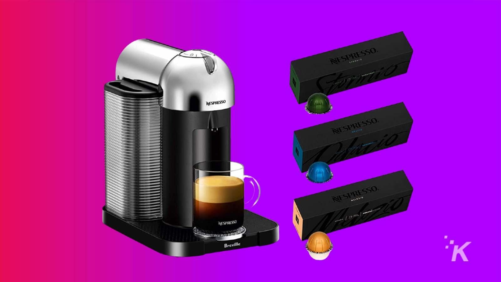 nespresso deals coffee knowtechie deal