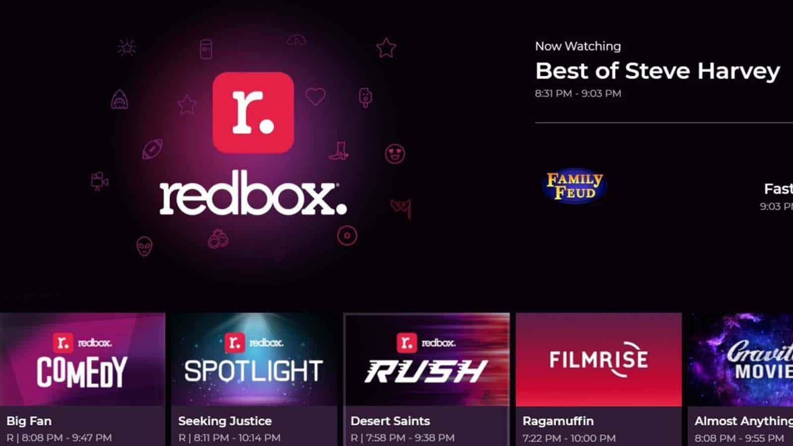 redbox live tv