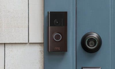 ring doorbell black