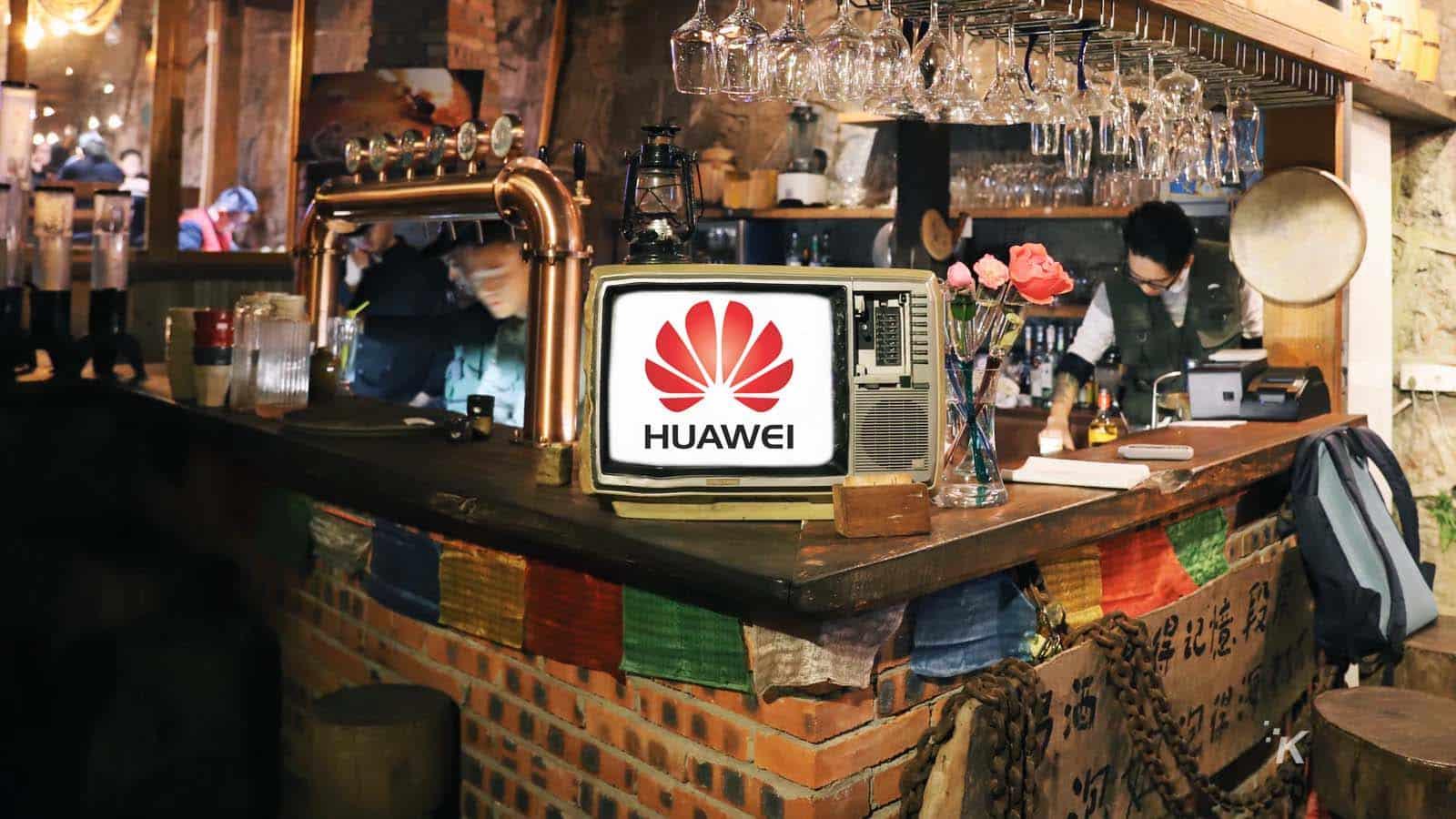 tech hangover huawei logo