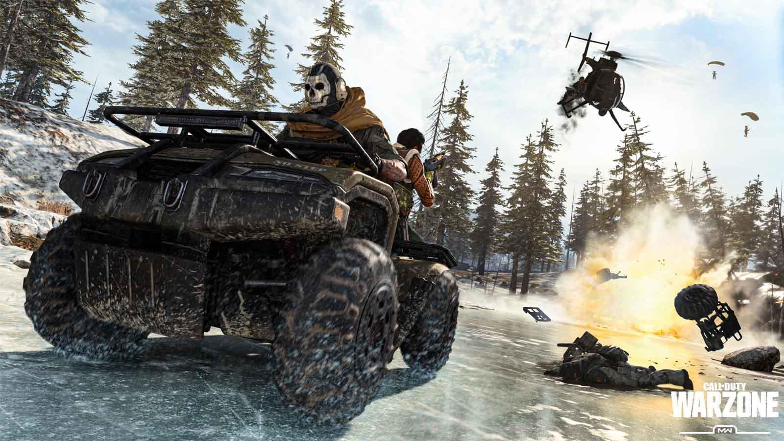 cod warzone gameplay
