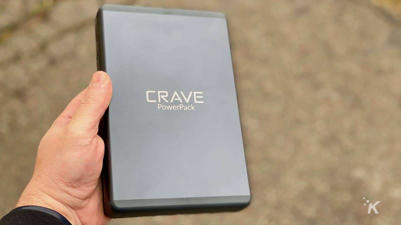 crave powerpack 2 portable battery charger
