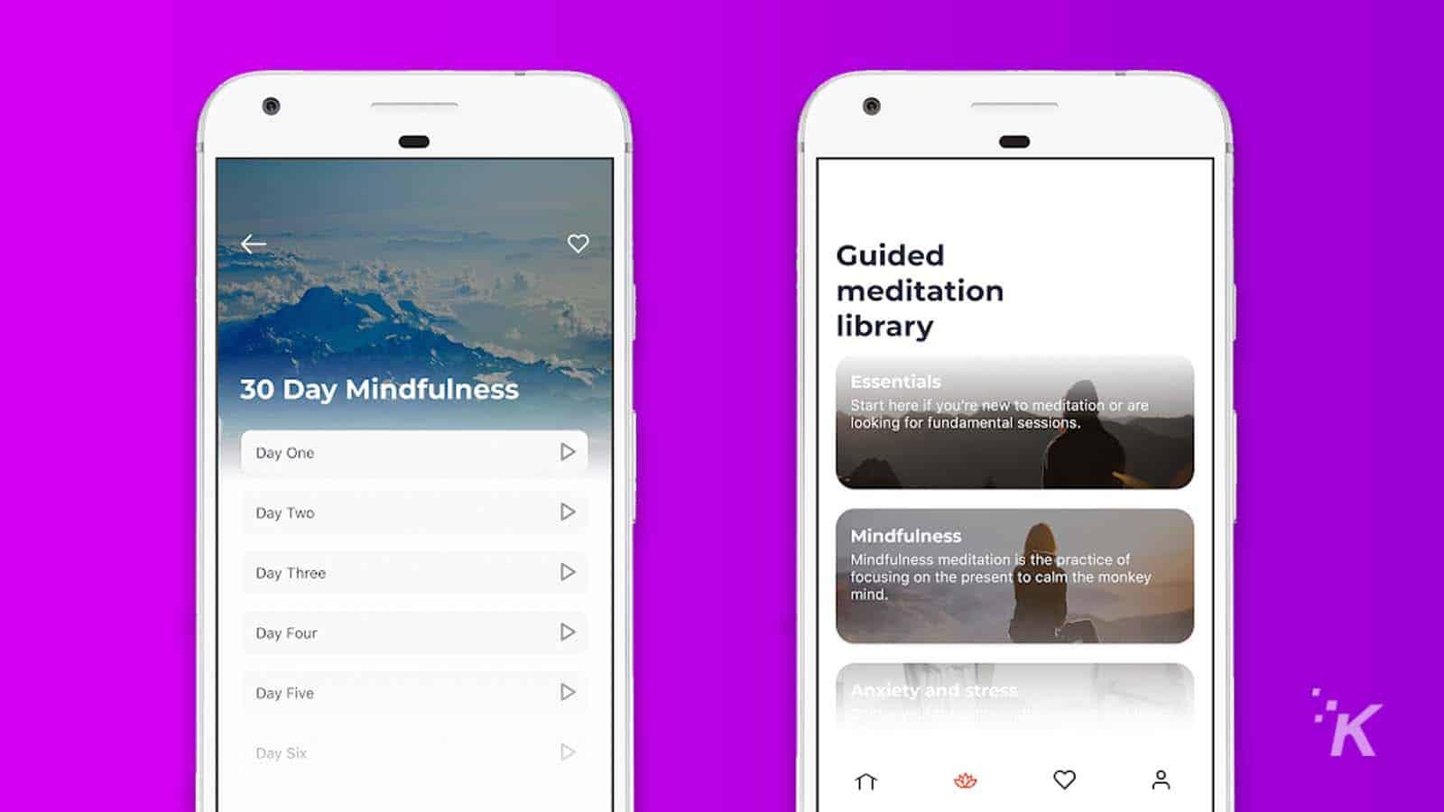 declutter meditation app