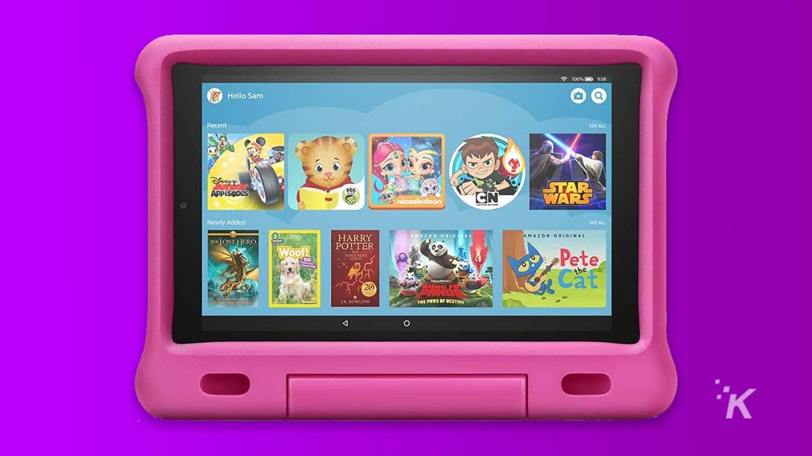 fire hd 10 kids tablet with streaming