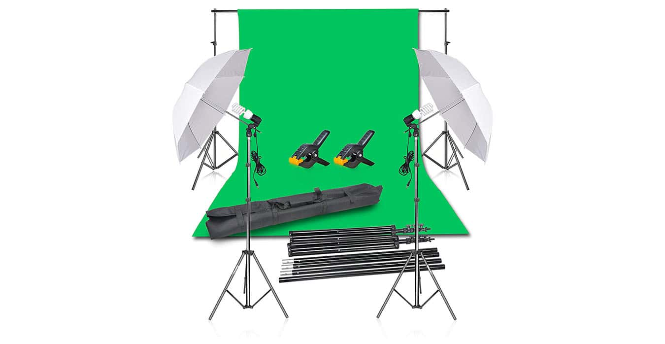 green screen banner