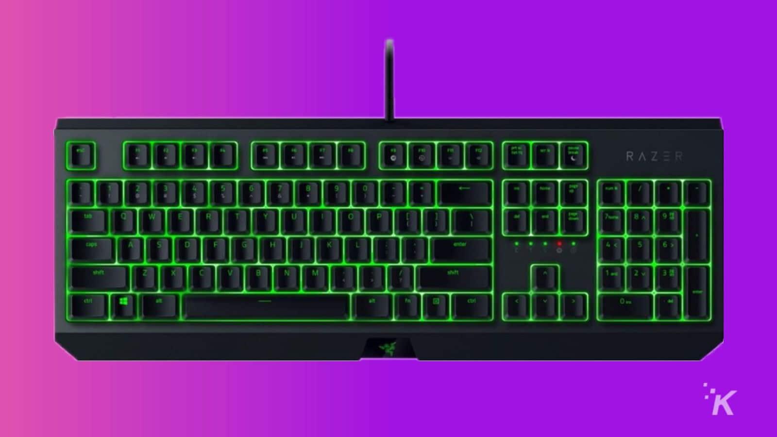 razer blackwidow essential keyboard
