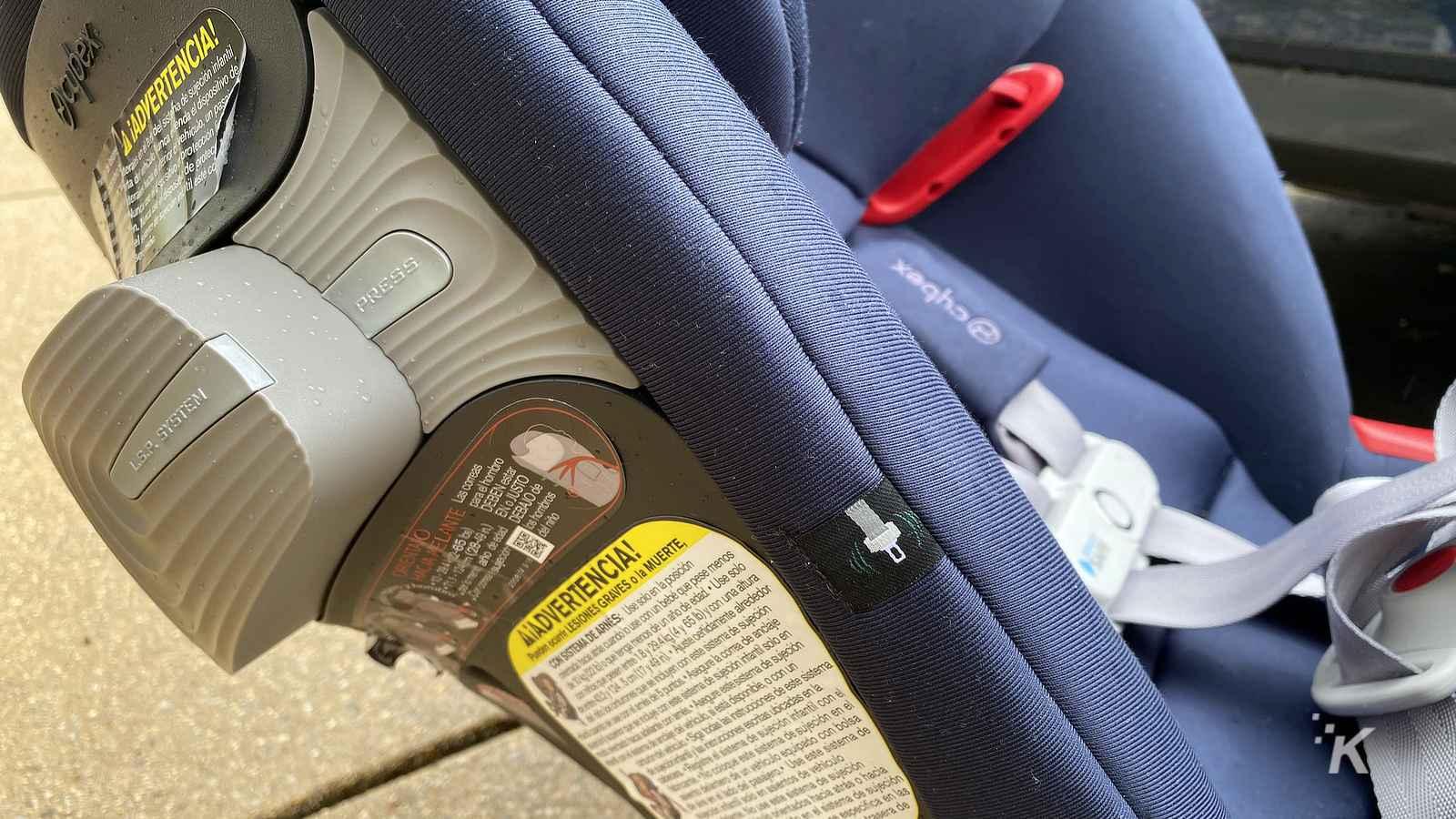 cybex priam smart car seat