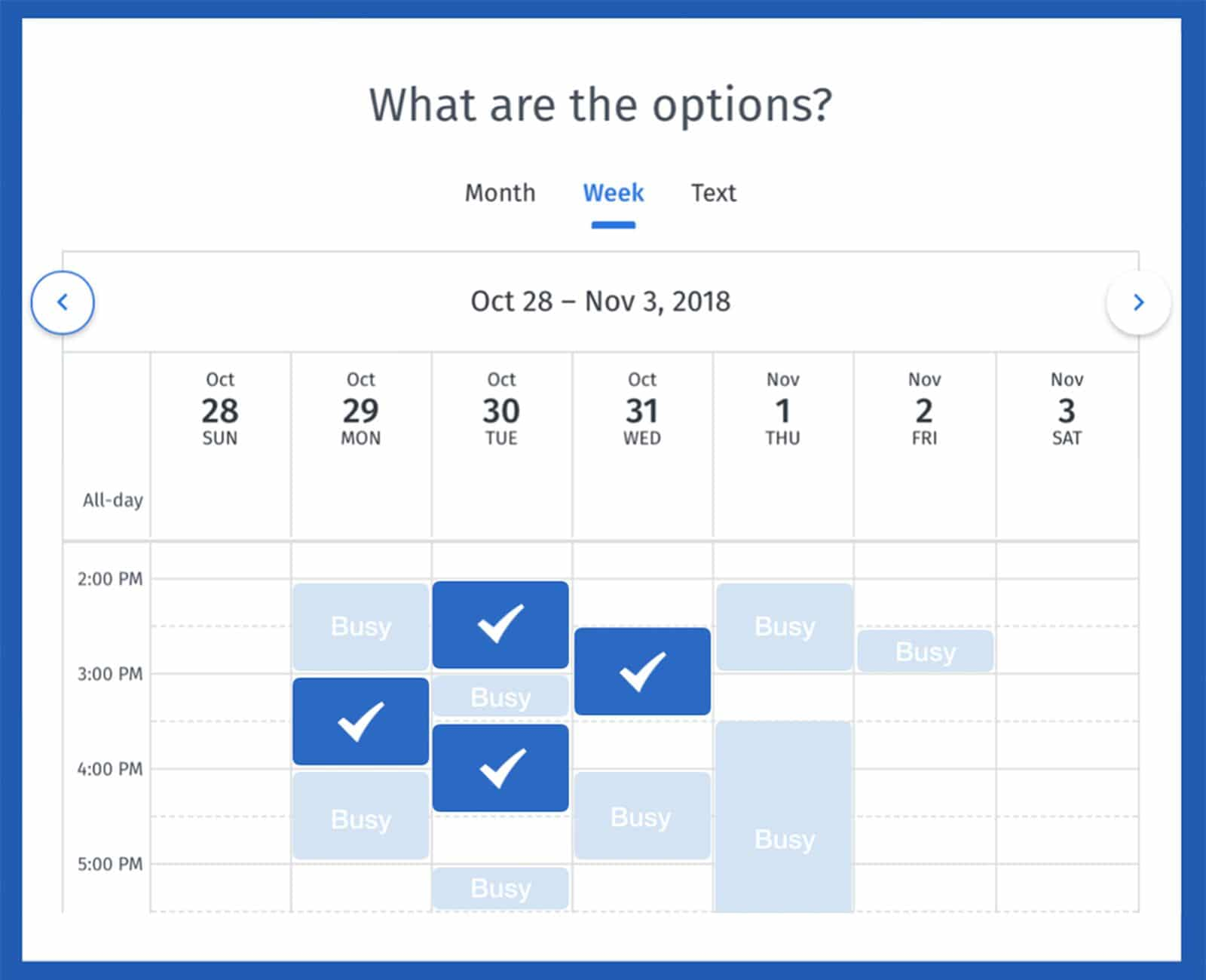 doodle calendar scheduler