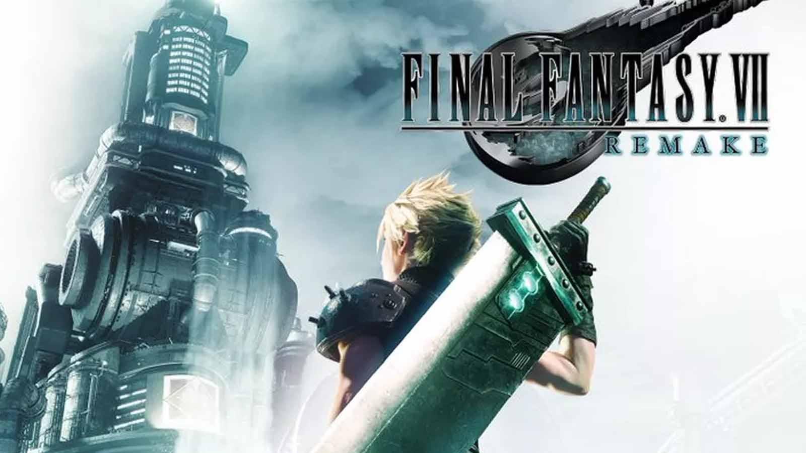 final fantasy vii remake cover art