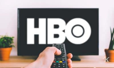 hbo on a television
