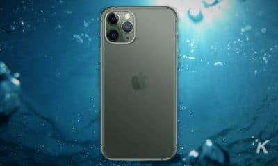 iphone 11 in water