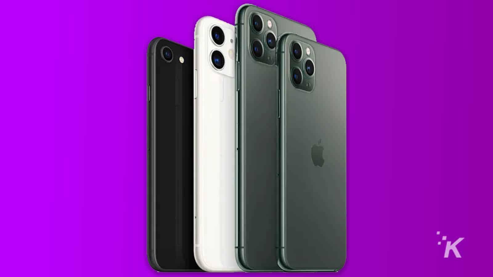 apple iphone se size comparison