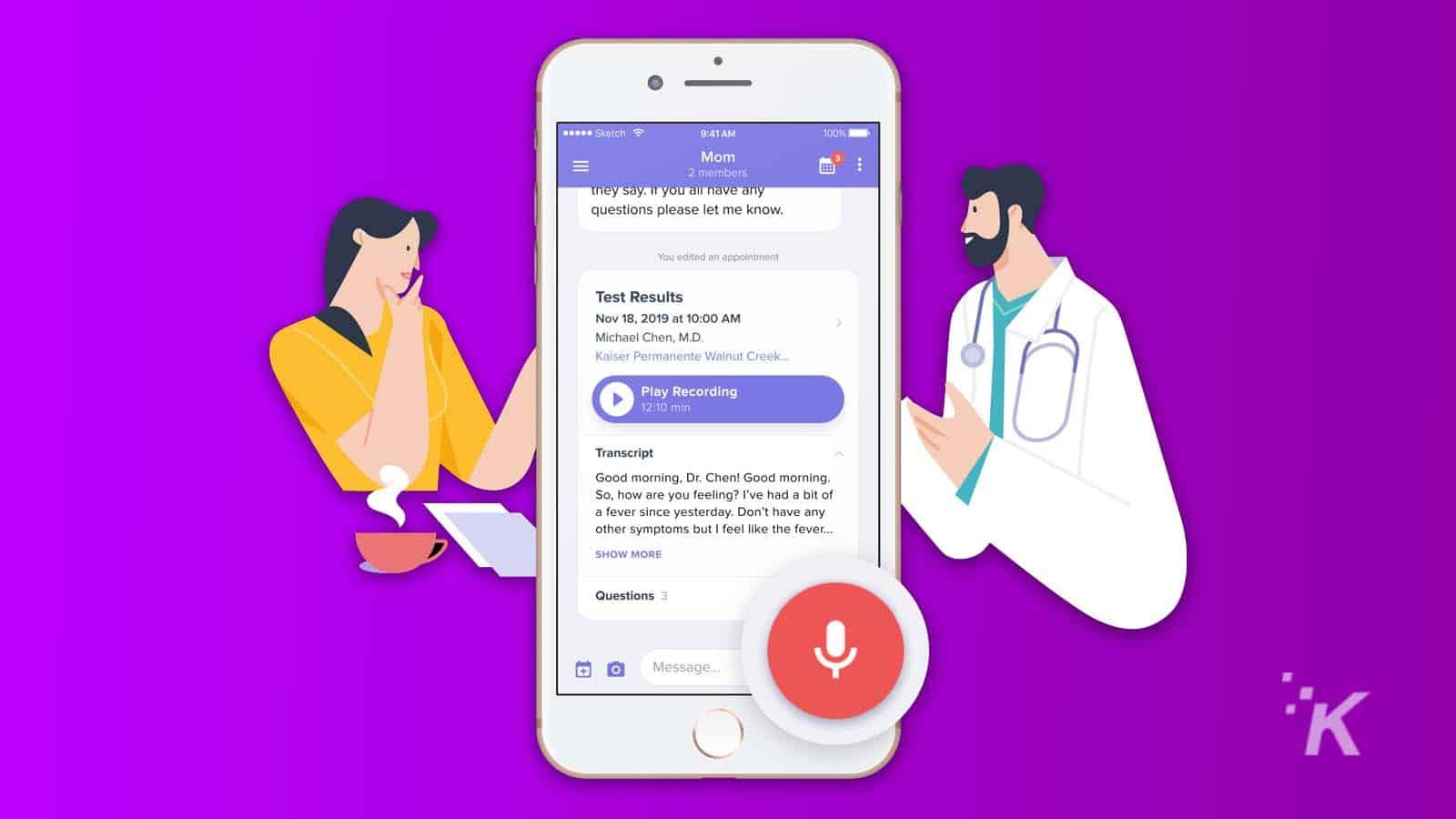 medcorder app