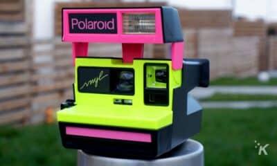 polaroid vnyl camera