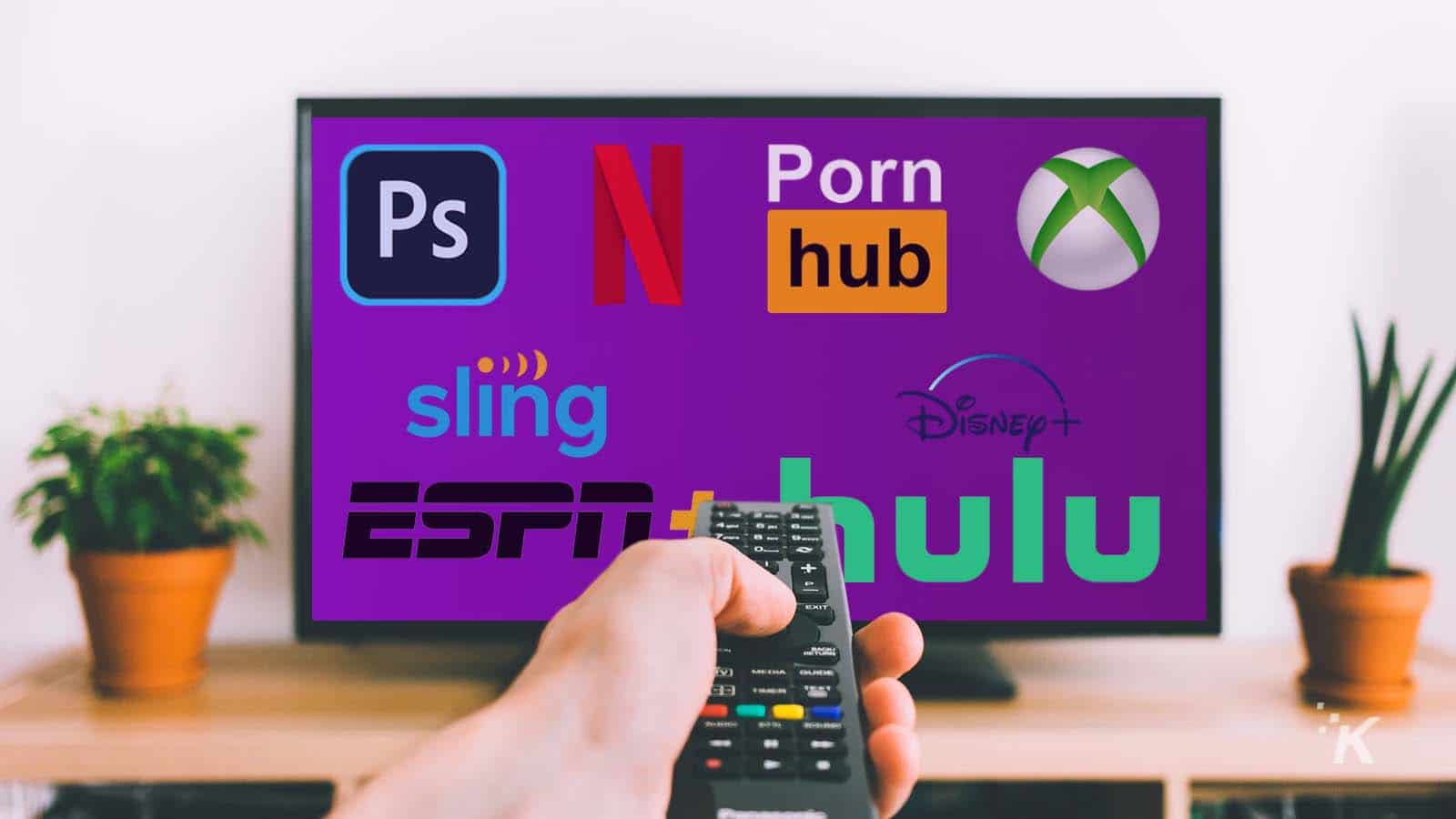streaming services on tv