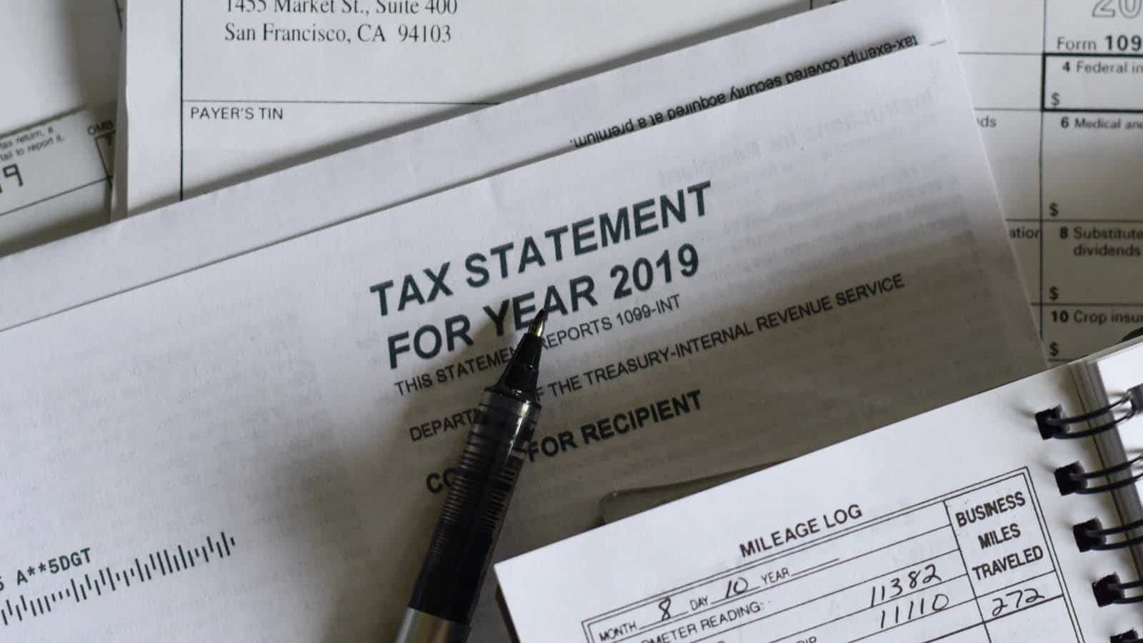 tax statement for irs stimulus check