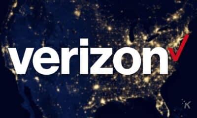 verizon logo on globe background