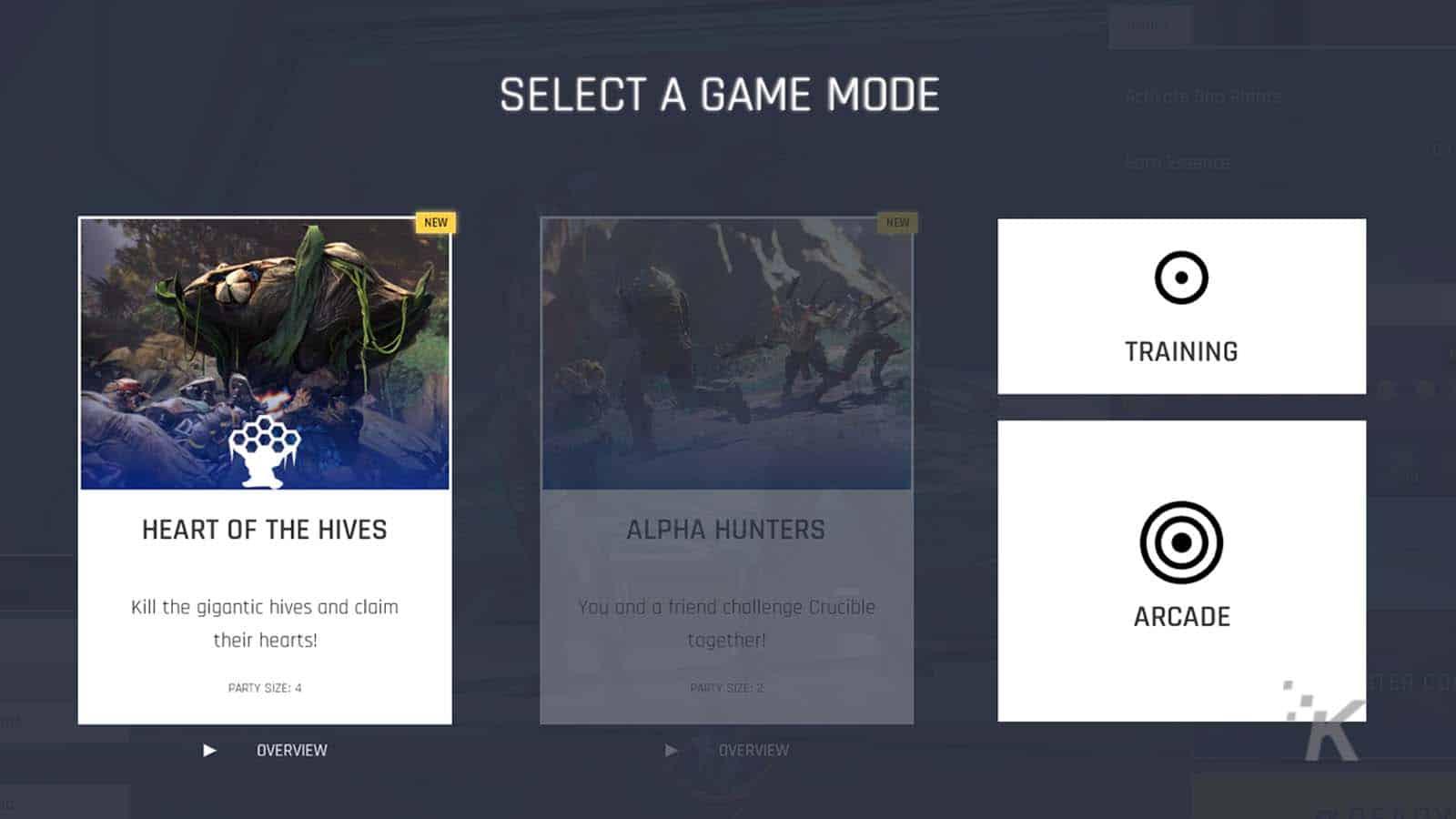crucible game modes