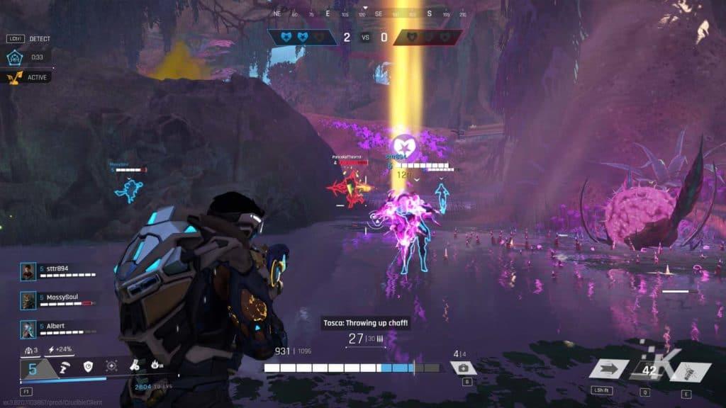crucible gameplay from amazon