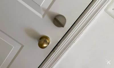 friday smart lock on door