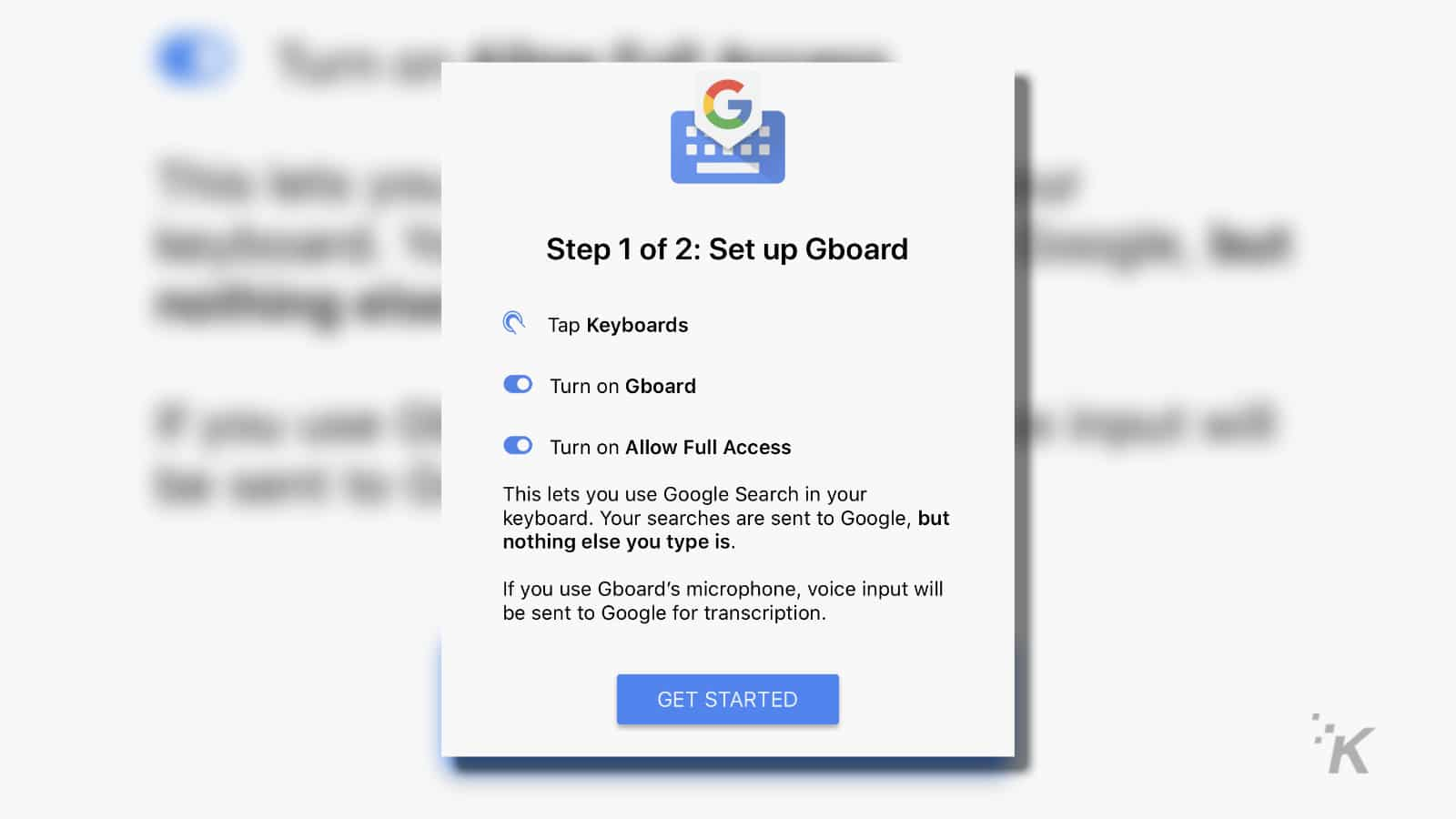 how to set google up