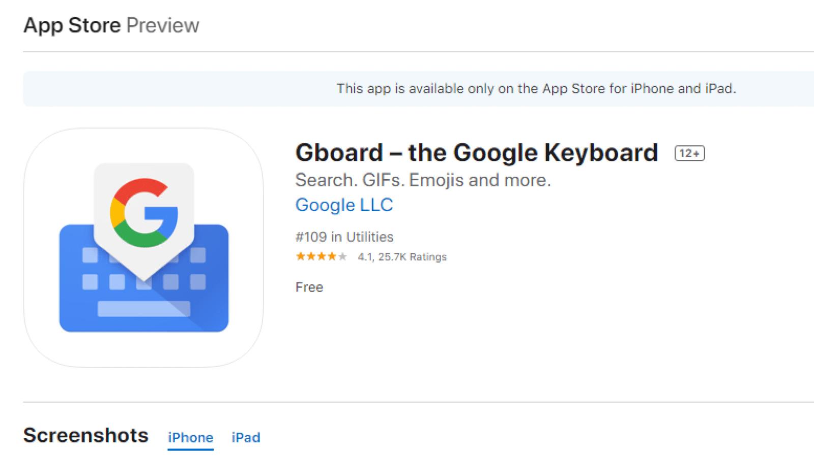 gboard app download