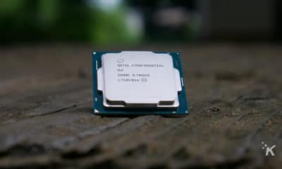 cpu on table