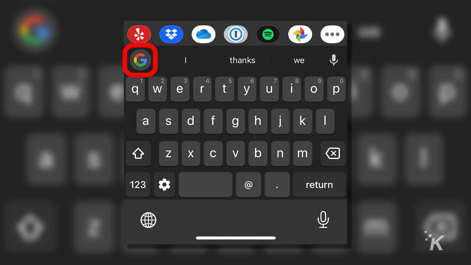 ios keyboard with gboard