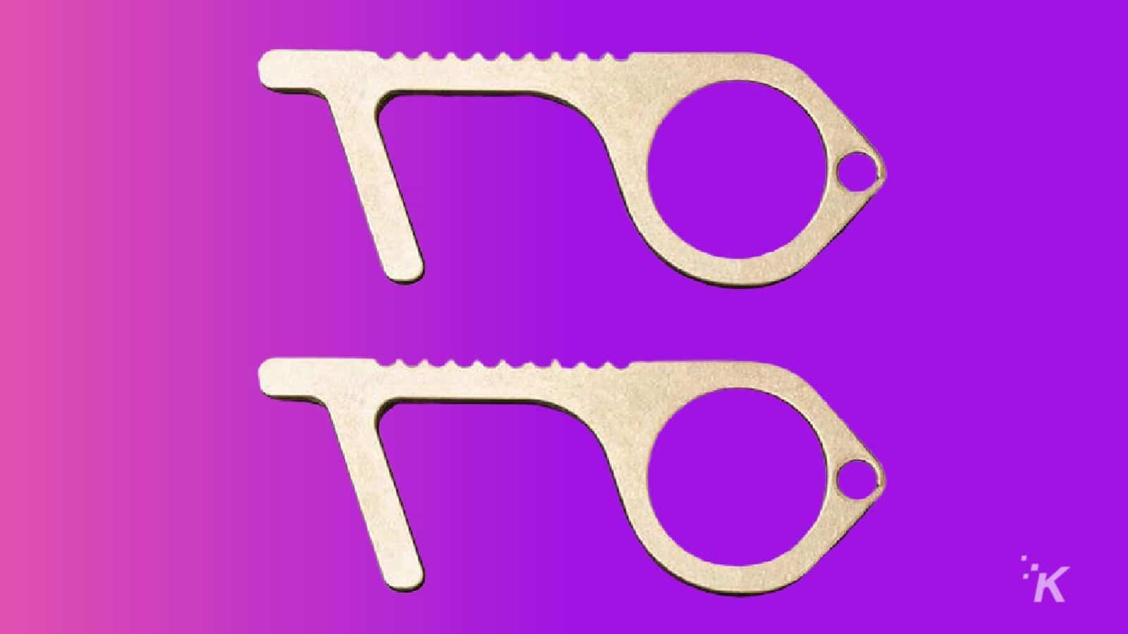 keychain germ tool