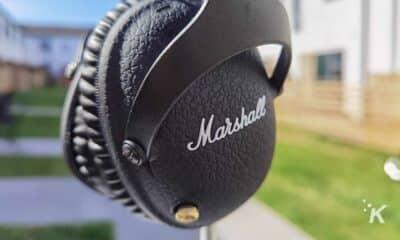 marshall headphones control knob